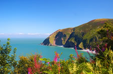 Foreland Point, Countisbury, near Lynmouth, Exmoor National Park, Devon