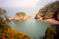 Golden Cove, Combe Martin, Exmoor National Park, Devon