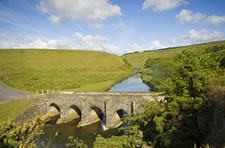 Landacre Bridge on the River Barle, Exmoor National Park