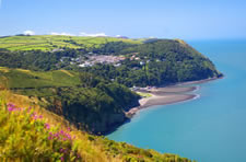 Lynmouth and Lynton, Exmoor National Park, Devon