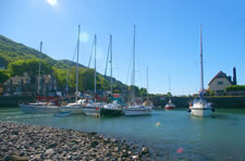 Porlock Weir, Exmoor National Park, Somerset