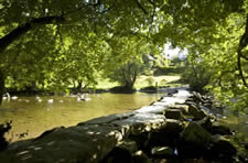 Tarr Steps, near Winsford, Exmoor National Park, Somerset