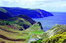 Valley of Rocks, Lynton, Exmoor National Park, Devon