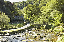 Watersmeet, Lynmouth, Exmoor National Park, Devon